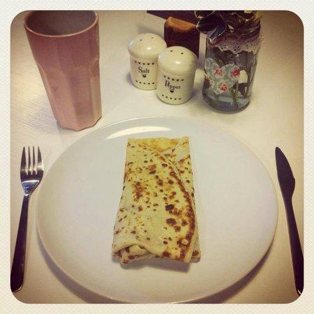 Chiff Chaff Cafe: Pancakes at Chiff-Chaff