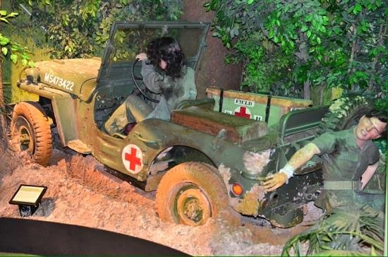 National Army Museum: Stuck in the mud. The african campaign was hampered by the weather & terrain.