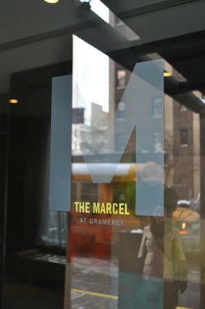 The Marcel at Gramercy: front doors