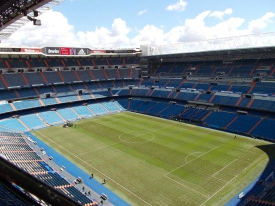 Estadio Santiago Bernabéu: stadium