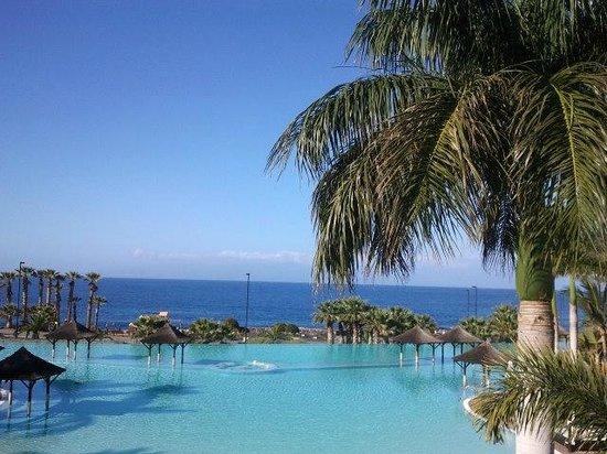Gran Meliá Palacio de Isora Resort & Spa: Isla de la Gomera desde el hotel