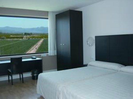 Hotel Puerta de la Serranía: habitacion doble