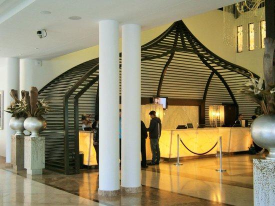 Gran Melia Palacio de Isora Resort & Spa: Recepción