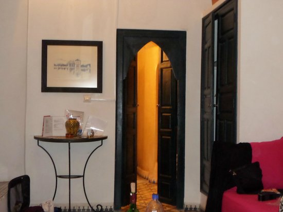 Riad Aloes: Our bedroom