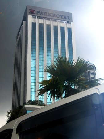 PARKROYAL Serviced Suites Kuala Lumpur : External view of Hotel