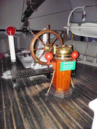 Fram Polar Ship Museum: timoneria