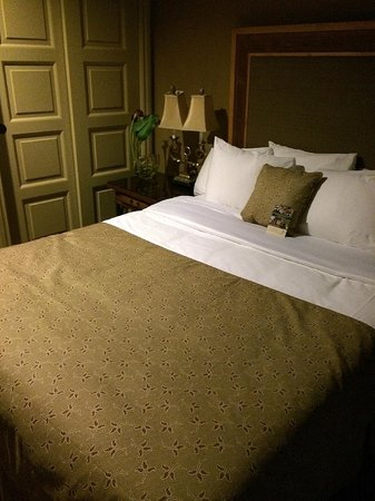 Grand Cascades Lodge: Queen Size Bed