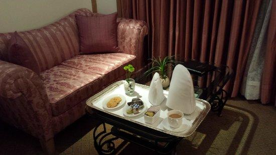 Taj Mahal Hotel : Tea