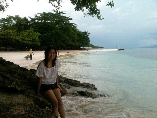 Isla Reta Beach Resort: ViewBeachArea