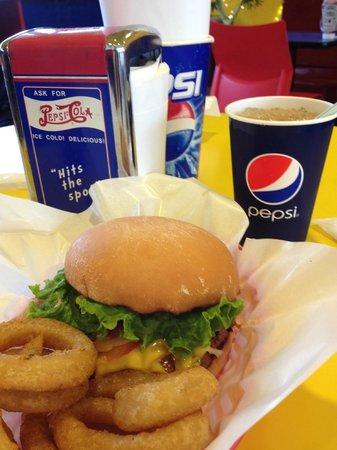 Teddy's Bigger Burgers, Harajuku-Omotesando: ハンバーガーセット