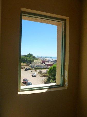 Hostel Pinamar: Vista desde nuestra habitación