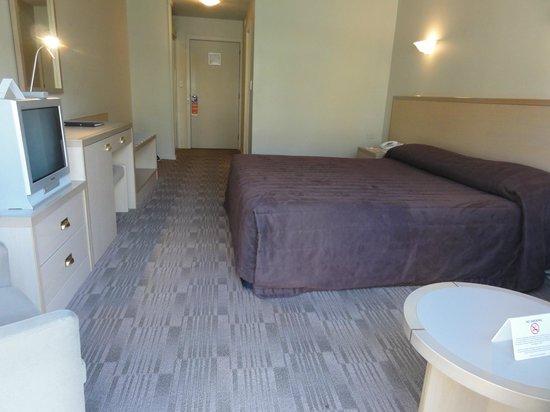Sudima Hotel Christchurch Airport: 部屋はかなり広いです