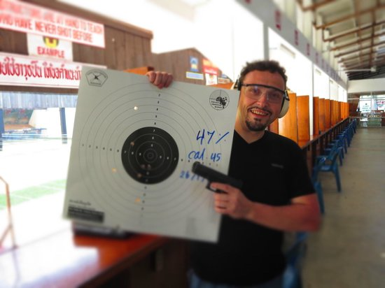Phuket Shooting Range: Great fun shooting!