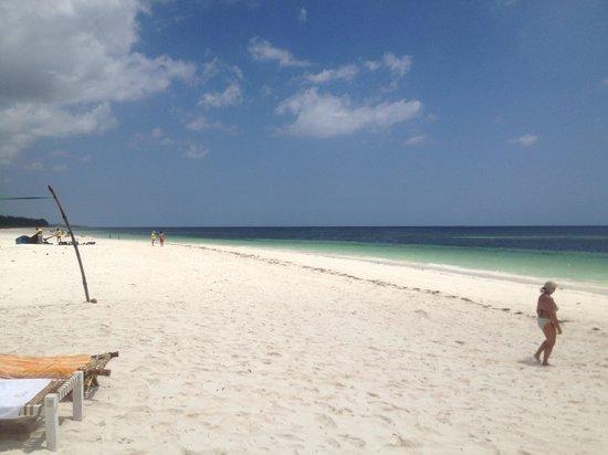 Jacaranda Beach Resort: Spiaggia di garoda