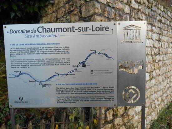 Domain of Chaumont-sur-Loire: entrada
