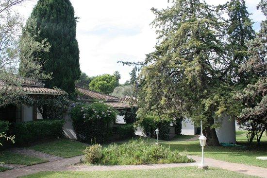 Fonda El Postillon: Garden