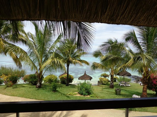 Canonnier Beachcomber Golf Resort & Spa: vue de la chambre