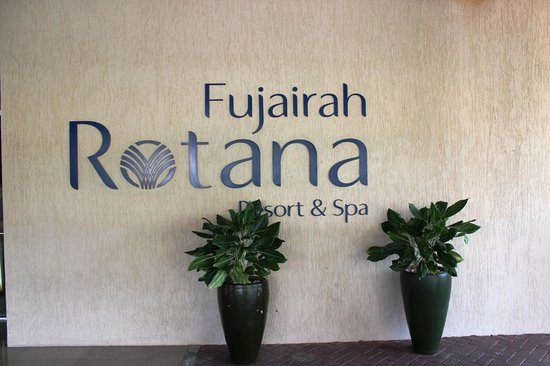 Fujairah Rotana Resort & Spa - Al Aqah Beach : Eingang