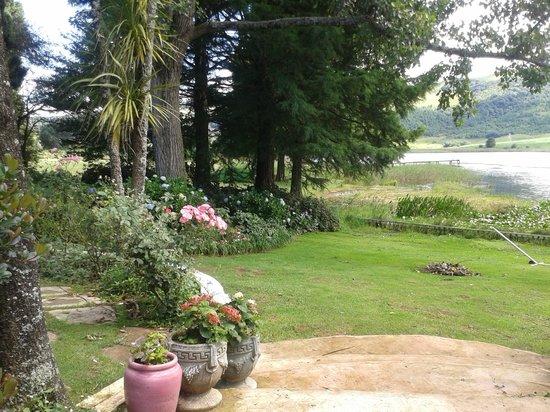 Beacon Vlei Guest Farm : The beautiful gardens