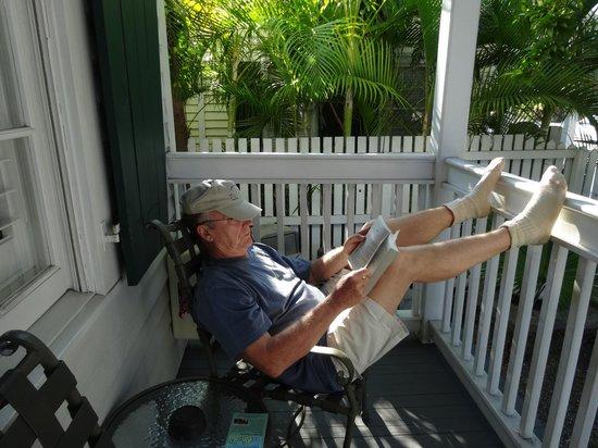 Albury Court Hotel in Key West: Chillin'