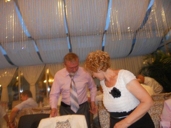 Nadiya Hotel & Restaurants: встреча в ресторане Надия