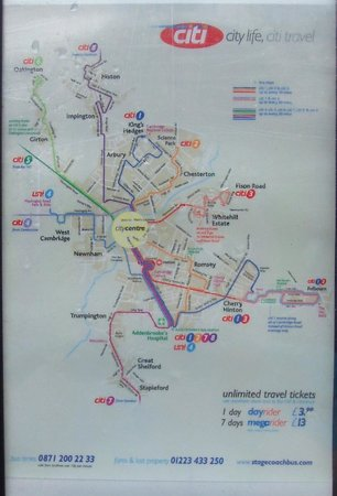Ayah Villa: BUS ROUTES