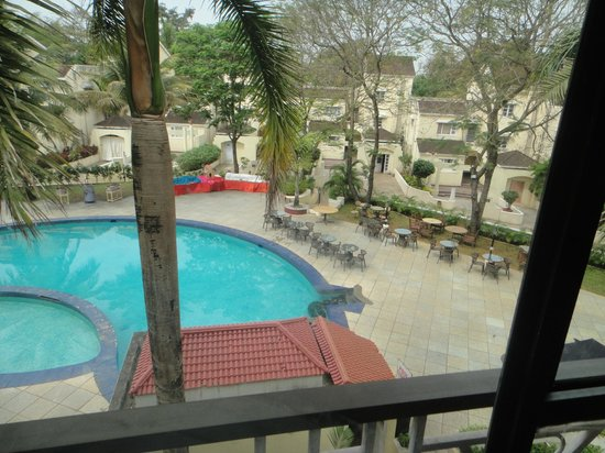 Goa - Club Estadia, A Sterling Holidays Resort: View from the room