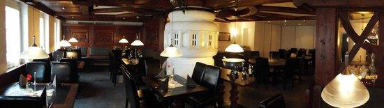 Restaurant Hirsch: Panorama Lokal