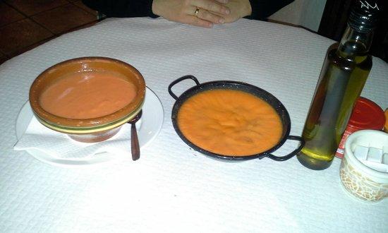 Cortijo Los Monteros: parte del desayuno