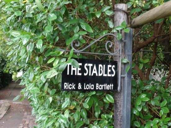 Constantia Stables: De ingang
