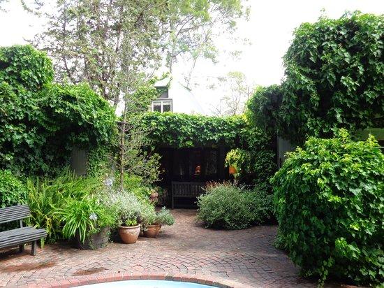 Constantia Stables: De tuin