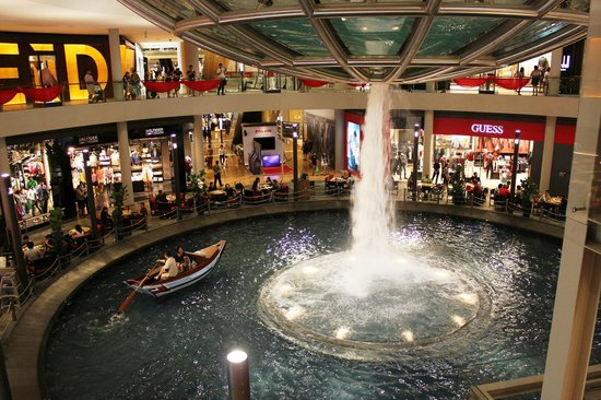 Marina Bay: inside the shopping complex