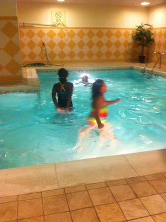 Hampton Inn Baltimore Downtown Convention Center Nice Indoor Pool