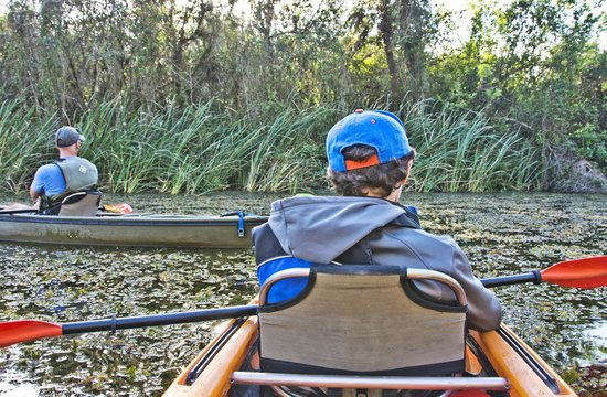 Shurr Adventure Company Day Tours: Paddler's view