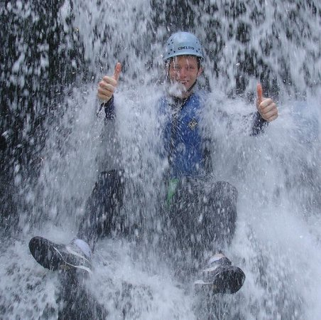Gorge Walking Wales: We will also take photos of all the best bits free of charge.