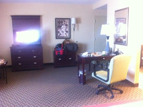 Hampton Inn Baltimore-Downtown-Convention Center: No lack of space here