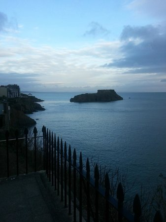 The Imperial Tenby Hotel: View from room