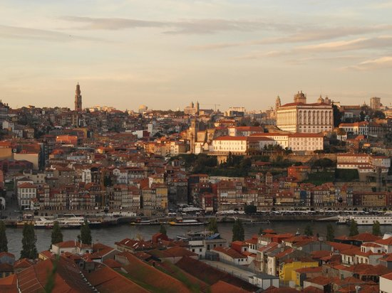The Yeatman: Oporto view from my room