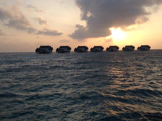 Jumeirah Vittaveli : Sunset