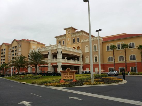 Westgate Vacation Villas Resort & Spa: Check-in, Town Center
