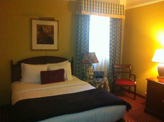Hotel Rex San Francisco: il letto, forse un po' corto (e io non sono un cestista)