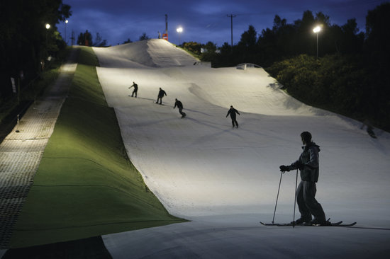 Warmwell Holiday Park Ski Slope