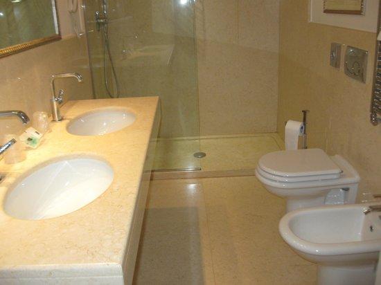 Bagno  ' Room n. 418  Hotel Plaza Mestre