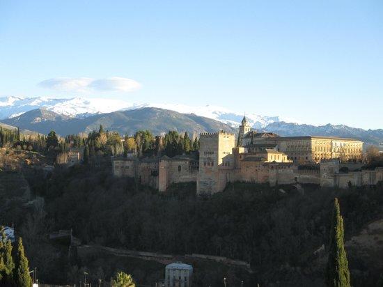 Albayzin: Vista desde el Mirador de San Nicolás
