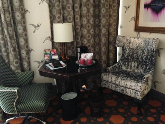 Hotel Monaco Portland - A Kimpton Hotel: complementary in room coffee and tea selections
