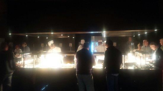 Hotel Riu Palace Tikida Agadir : Chefs at work in the evening