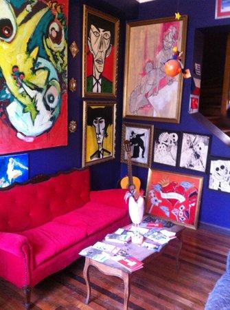 Bellavista Hostel: Lobby del Hostel