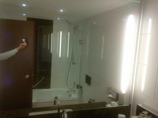 Maritim Hotel Darmstadt: Bathroom