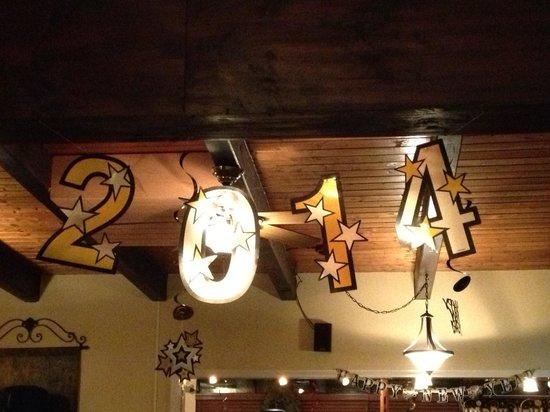 Ella's Wood Burning Oven Restaurant: Happy New Year.