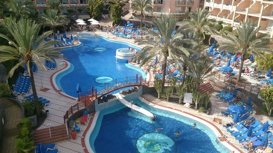 Dunas Mirador Maspalomas: Pool area